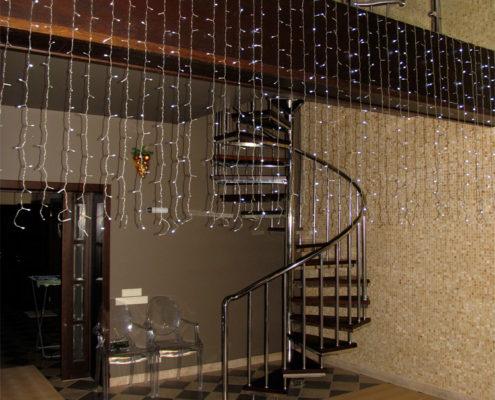 нержавеющая лестница для дома